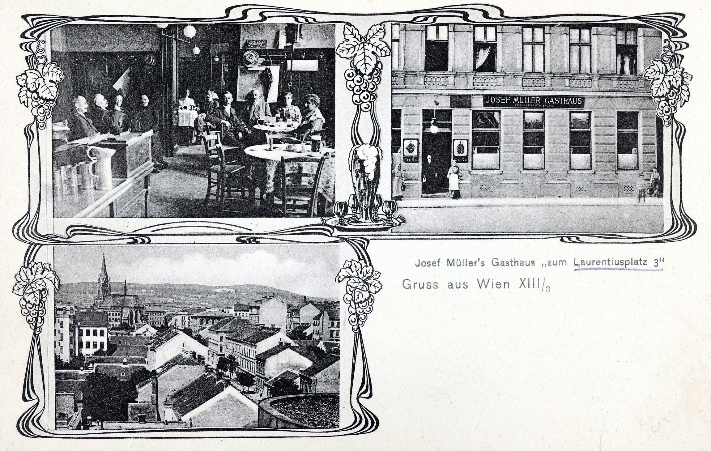 Wien 1910, Müller´s Gasthaus
