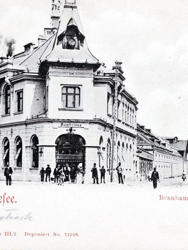 Wien 1899, Brauhaus Gambrinus