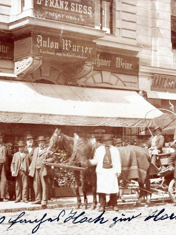 Wien 1903, Gasthaus zum lustigen Eisenbahner
