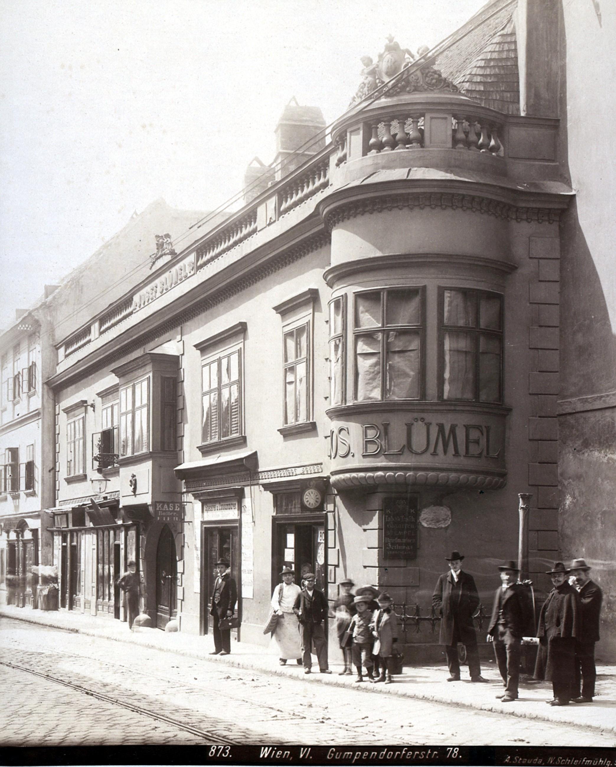 Wien 1901, Blümel-Haus