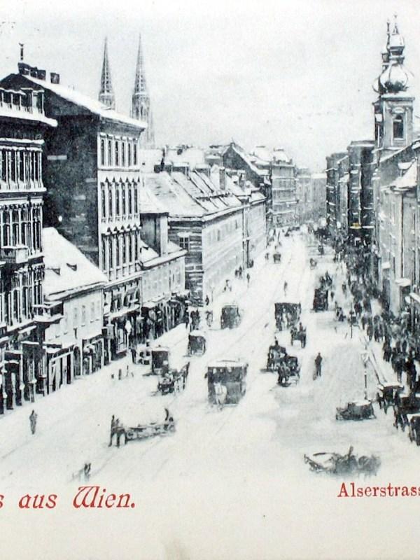 Wien 1905, Winterbild