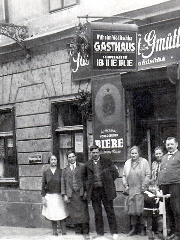 Wien 1932, Gasthaus Woditschka