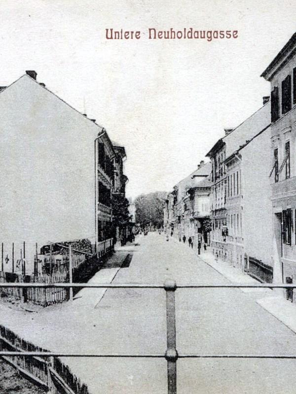 Graz 1905, Häuserbild