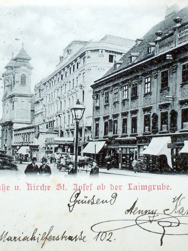 Wien 1898, Mariahilfer Straße