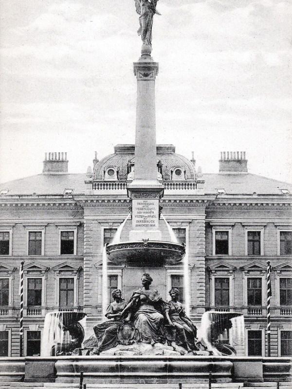 Innsbruck 1910, Grandioser Brunnen