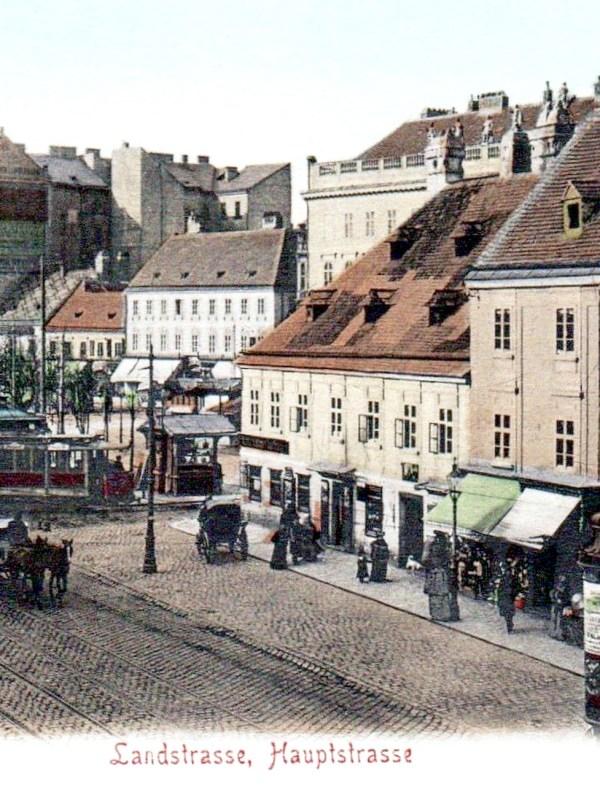 Wien 1904, Landstraßer Hauptstraße