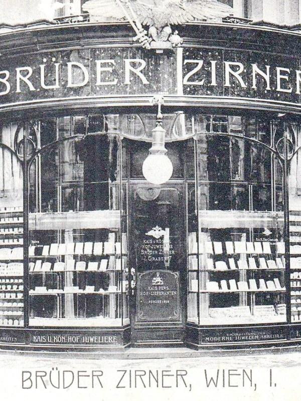 Wien 1905, Juweliergeschäft Zirner