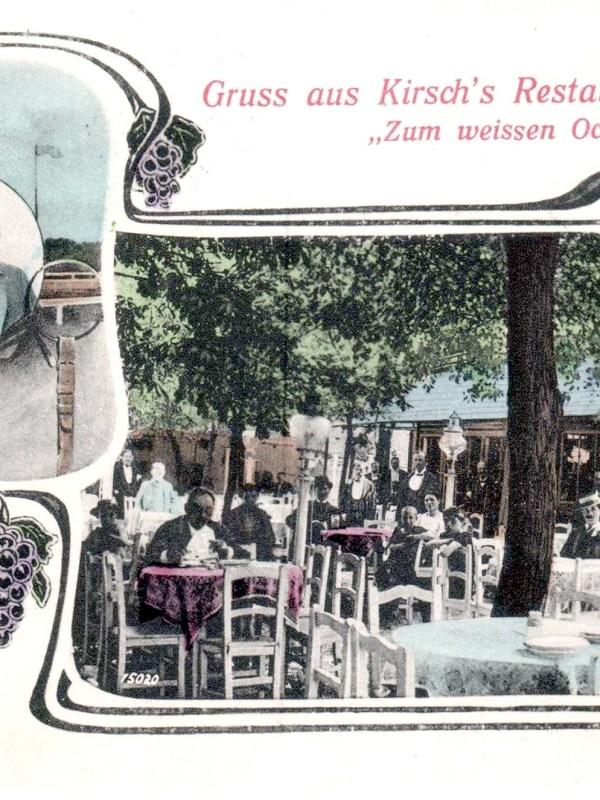 Wien 1906, Restauration zum Weißen Ochsen