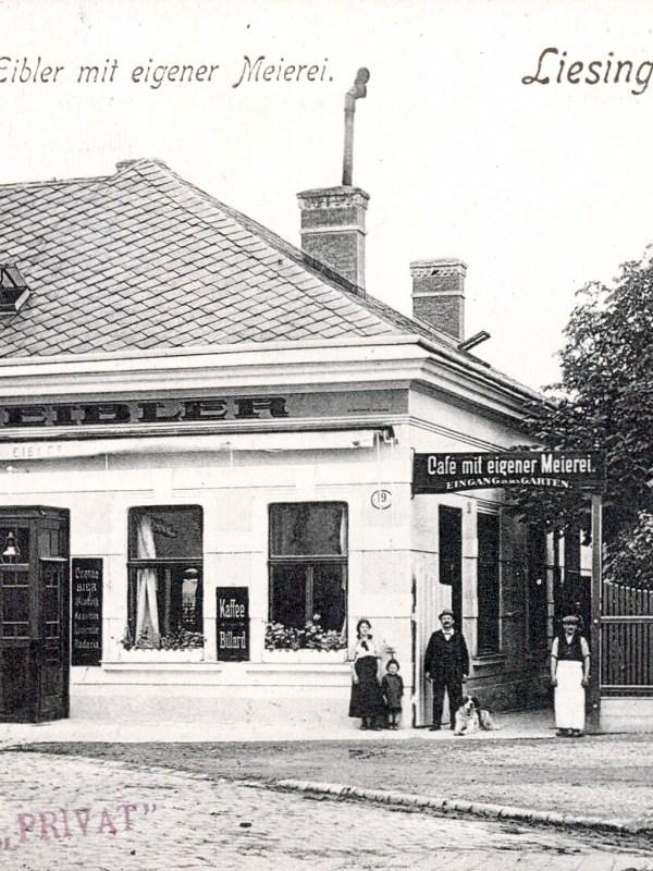 Wien 1908, Café Eibler