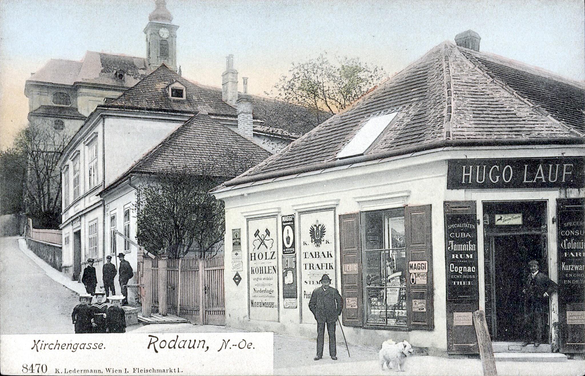 Wien 1908, Kirchengasse
