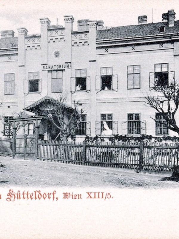 Wien 1899, Sanatorium Hütteldorf