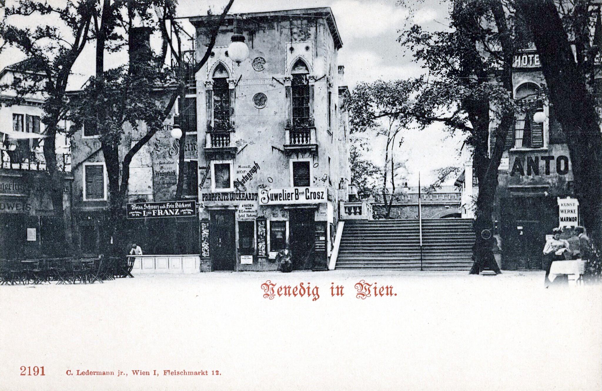 Wien 1899, Venedig in Wien I