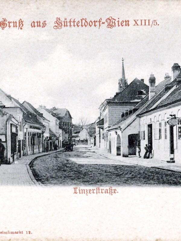 Wien 1899, Linzerstraße