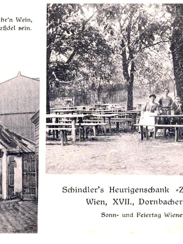 Wien 1910, Heurigenschank zur Hanni-Tant