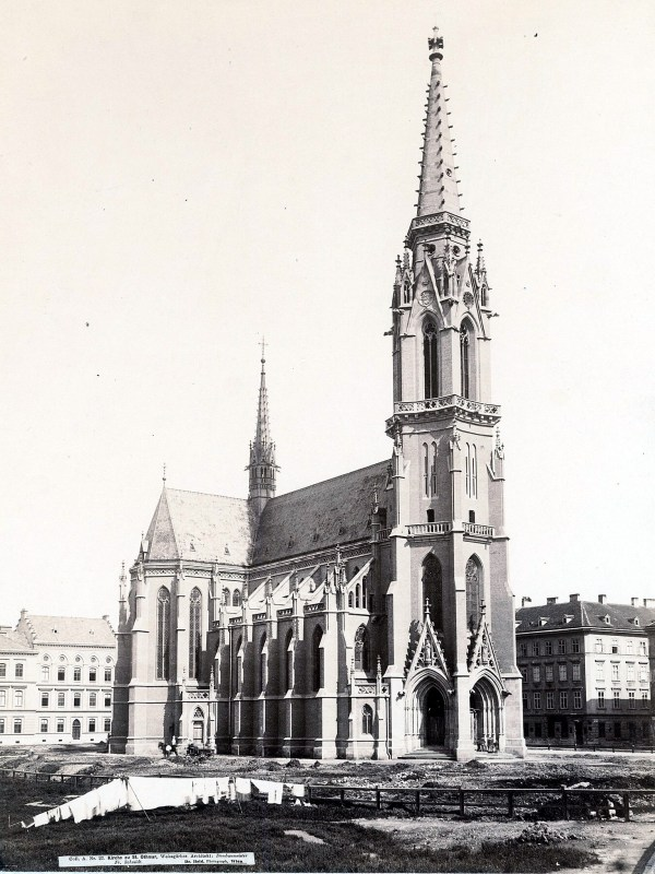 Wien 1890, Kirchenbild