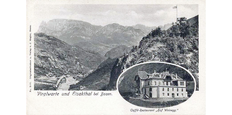Bozen 1908, Café Weinegg