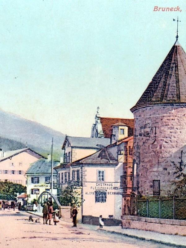 Bruneck 1910, Rienzbrücke