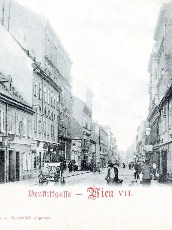 Wien 1898, Neustiftgasse