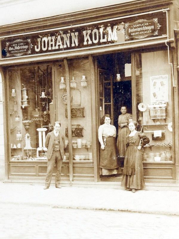 Wien 1910, Installateur Kolm