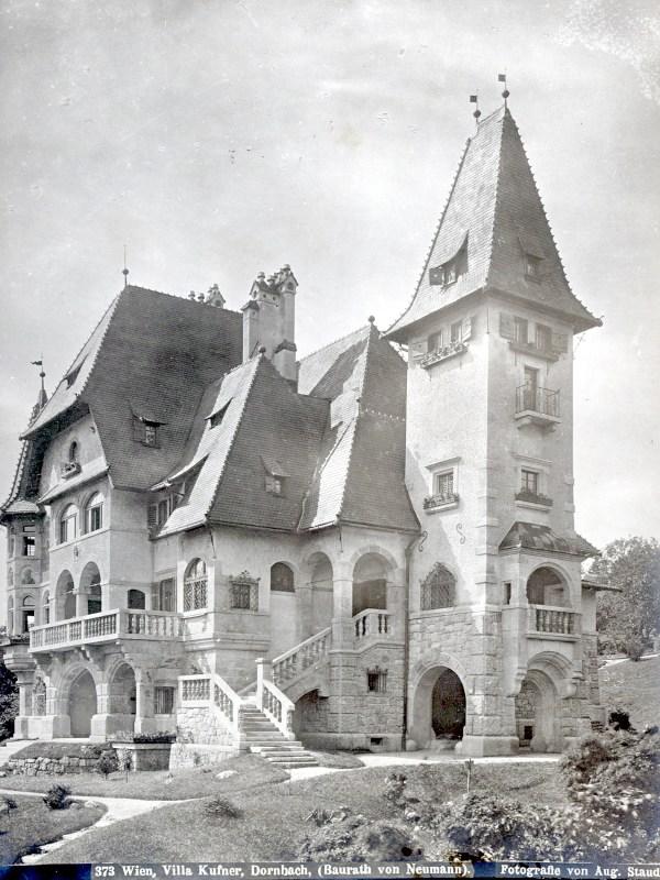 Wien 1899, Villa Kuffner