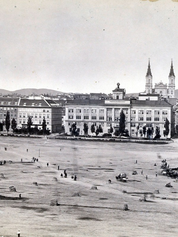 Wien 1868, Josefstädter Glacis