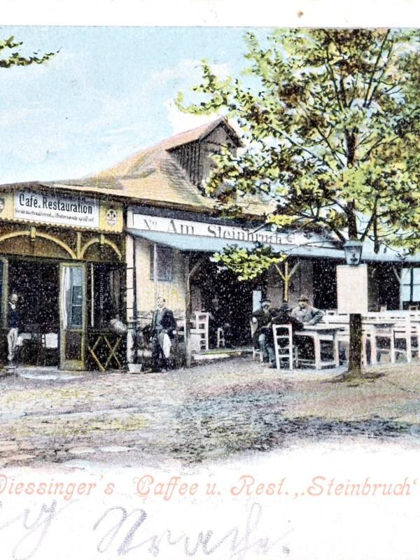 Wien 1905, Restauration Steinbruch