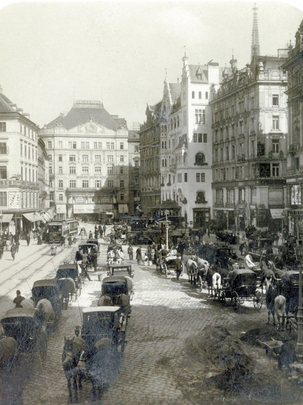 Wien 1908, Rush-Hour