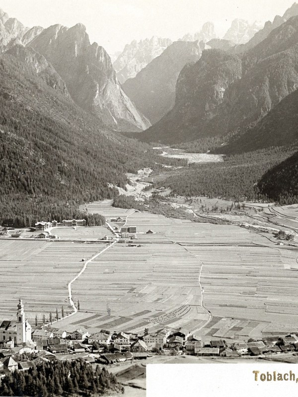 Toblach 1899, Fernblick