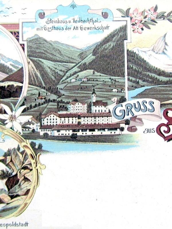 Steinhaus 1899, Gasthaus