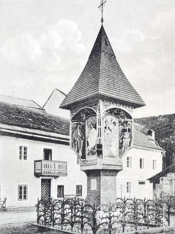 Welsberg 1905, Gotischer Bildstock