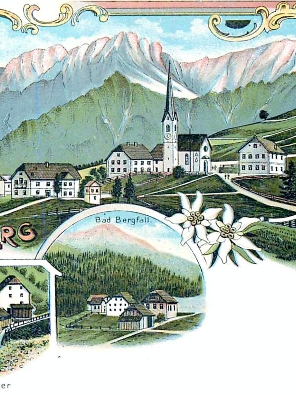 Geiselsberg 1898, Häuserbild