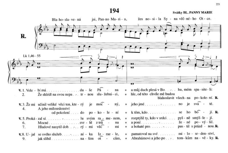 194 Svátky Bl. panny Marie