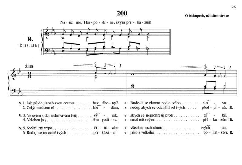200 O biskupech, učitelích církve