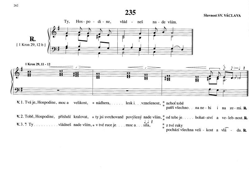 235 Slavnost Sv. Václava