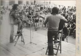 Con Suso Vaamonde no ano 1977