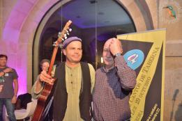 Con Tino Baz - 2015 Na gala dos cantos tabernarios en Pontevedra