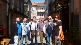 COS GHALOS. Na Navarra en Pontevedra- Abril 2017