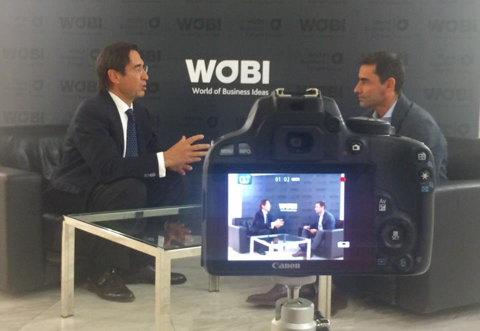 Mi encuentro con #MarioAlonsoPuig y clausura de WOBI 2017 (IV)