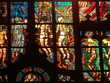 Praga, Catedral de San Vito, vidriera