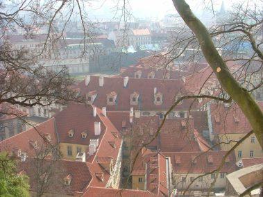 Praga, tejados de Malá Strana