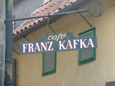 Praga, café Franz Kafka