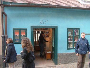 Praga, casa de Kafka en el callejón del oro
