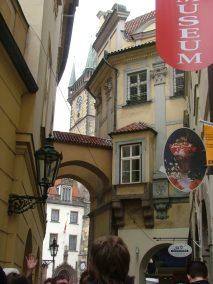 Praga, Melantrichova ulice