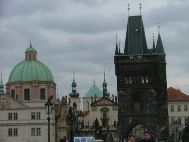 Praga, Torre del puente de Malá Strana