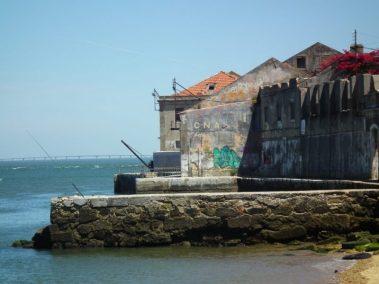 Almada, Calcihas, Lisboa, antiguos muelles, detalle