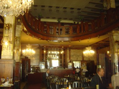 Praga, hotel evropa, interior