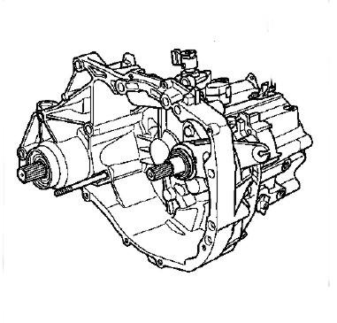 Manual de reparacion de caja de velocidad JH1, JH3, JR5