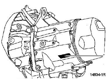 Manual de caja de velocidad mecánica JC7 Renault Scénic