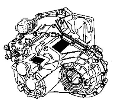 Manual de caja de velocidad mecánica PF1 Renault Master