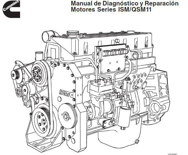 Manual de diagnóstico y reparación motor Cummins series